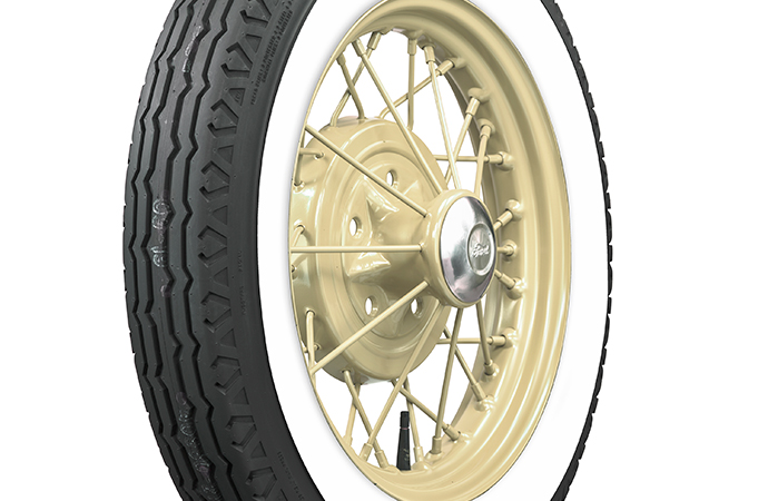 The latest from Coker Tires is this bias-look radial tire for vintage vehicles. | Coker Tire Company photos
