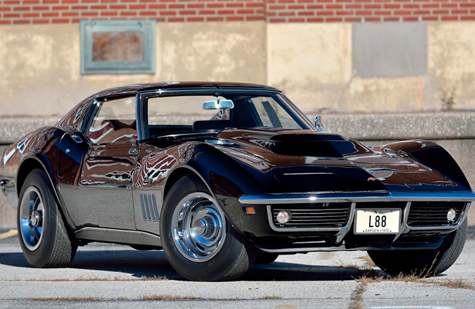 Mecum will offer these L88 Corvettes as one lot at its upcoming auction in Kissimmee, Florida.   Mecum photos