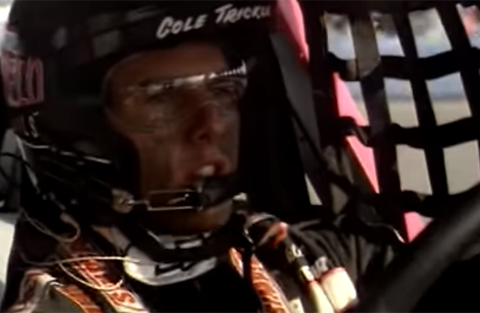 Tom Cruise stars at fiery racer Cole Trickle in Days of Thunder. | Paramount Pictures