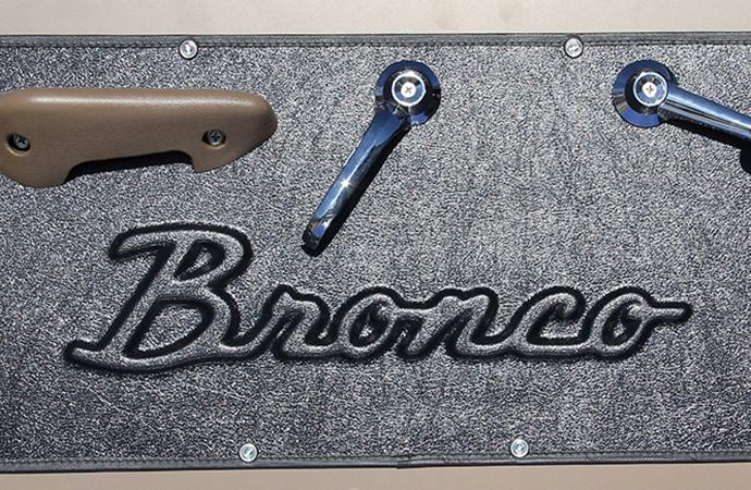 Quiet Ride Solutions unveils custom door panels for vintage Broncos