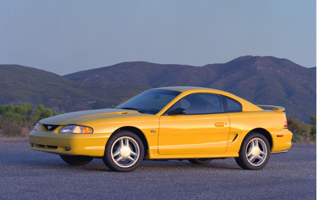 Take a walk back through the history of the Ford Mustang GT. | Ford Motor Company photos