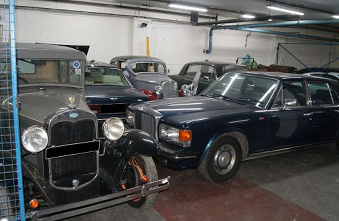 Irish officials have arrested four people in a classic car scam that included top marques such as Bentley, Rolls-Royce and Mercedes Benz. | An Garda Síochána photo
