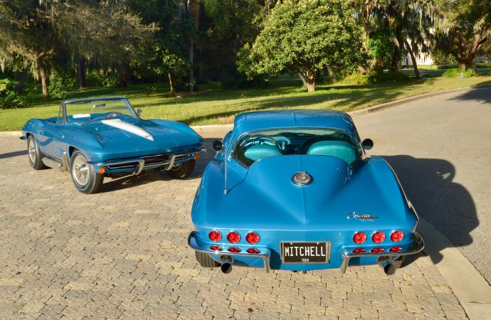 Harley Earl, Bill Mitchell Corvettes offered as single lot at Kissimmee auction