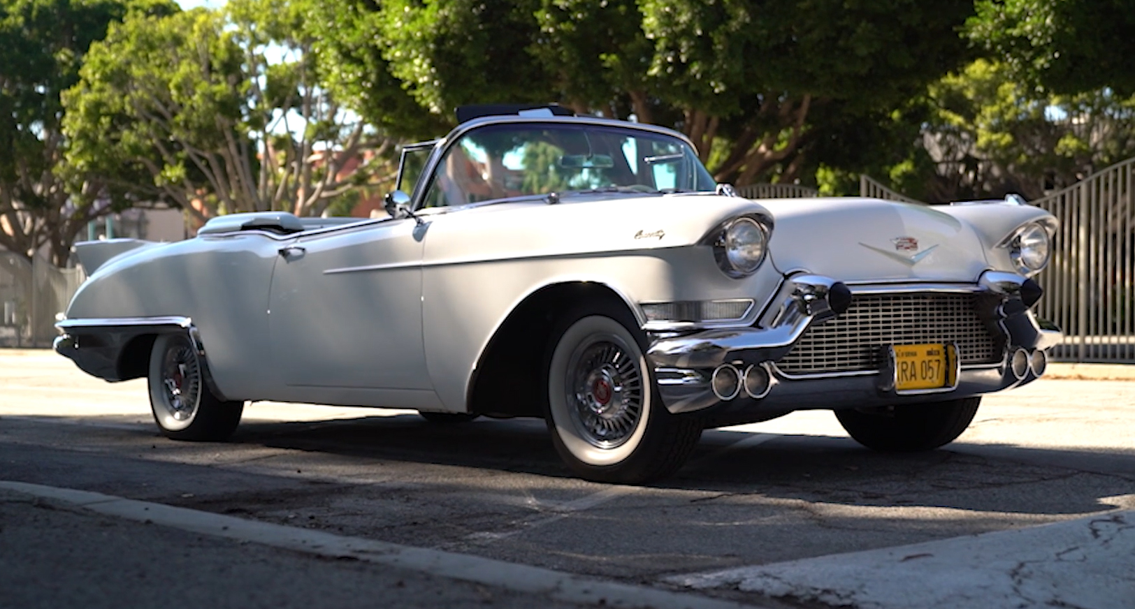 There are few things that scream classic Hollywood more than a classic Cadillac.