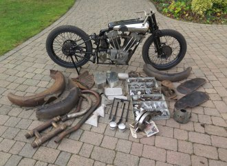'Gentleman' Dickson's Brough Superior headed to auction