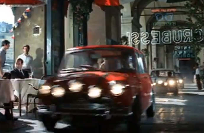 The original The Italian Job film made the Mini Cooper into an excellent getaway car. | Oakhurst Productions
