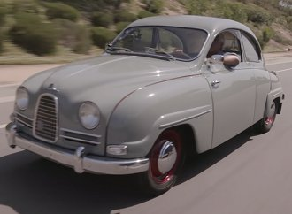 Jay Leno highlights his delightful 1958 Saab 93