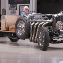 Duesenberg Model J chassis roars into Jay Leno's Garage