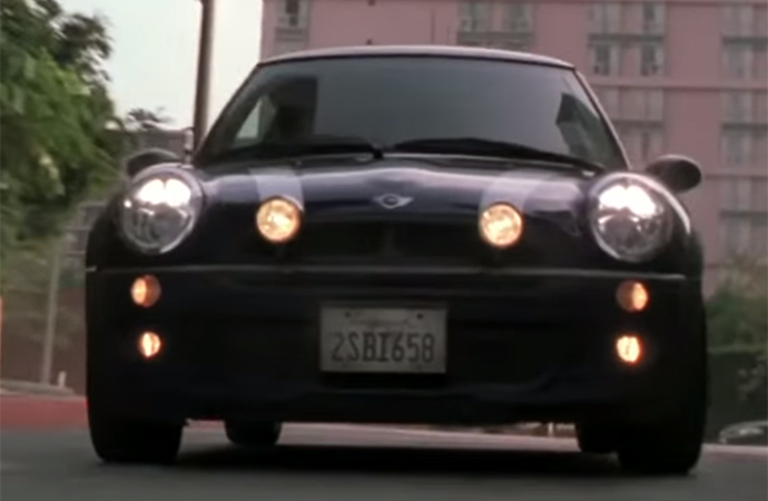 The 2003 remake of The Italian Job kept the Mini Cooper has the hero car. | Paramount Pictures
