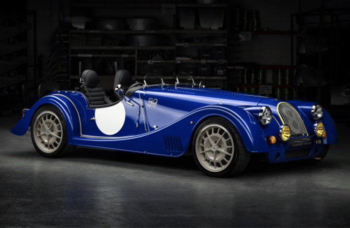 Morgan is doing away with its 50-year run of V8s and said goodbye to the tradition with a great video. | Morgan photo