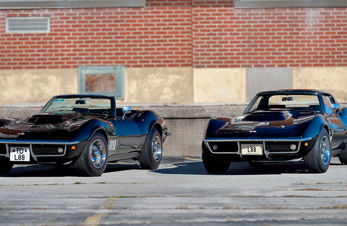 Pair of aces: Two 1969 L88 Corvettes heading to Mecum auction in Kissimmee