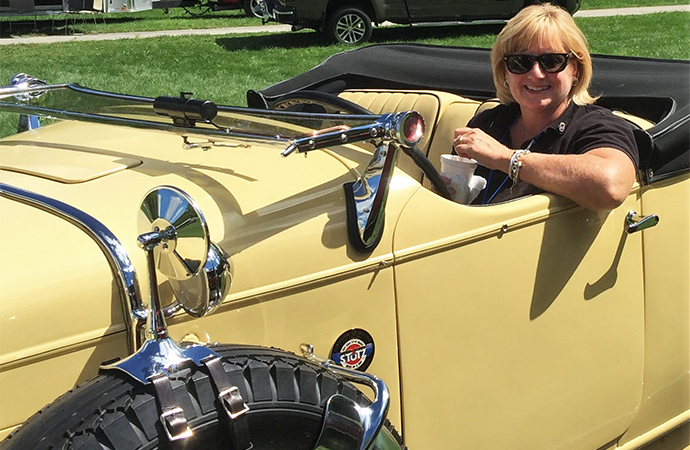 Classic Car Club of America President Carrol Jensen sees a bright future for classic cars. | Carrol Jensen photo