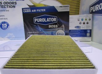 Purolator adds Febreze to automotive cabin filters