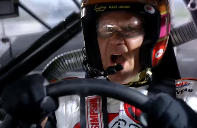 Ricky Bobby was born to race. But his fortune takes a turn for the worse in Talladega Nights. | Columbia Pictures