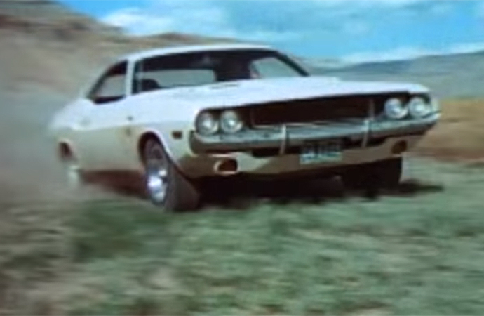 Vanishing Point features an awesome 1970 Dodge Challenger R/T 440 Magnum. | 20th Century Fox