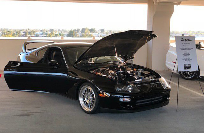 Head judge Andy Reid said original cars tend to top his list, but that didn't stop a heavily modified Toyota Supra from winning the Future Classic Car Show last year. | ClassicCars.com photo
