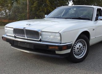 Low-mileage, one-owner and classic Jaguar sedan