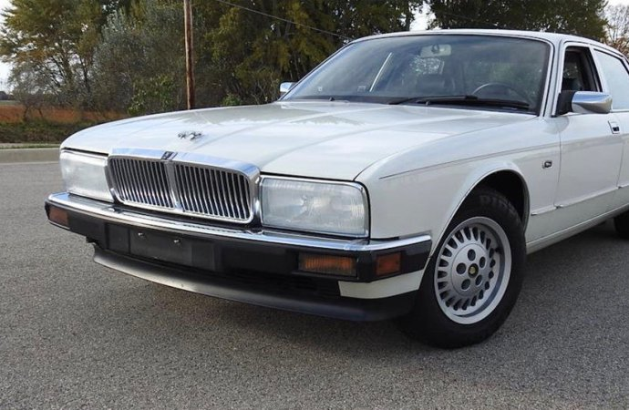 Low-mileage, one-owner and classic Jaguar sedan