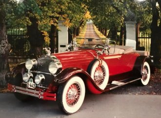 Road trip: 1928 Packard for sale in Norway