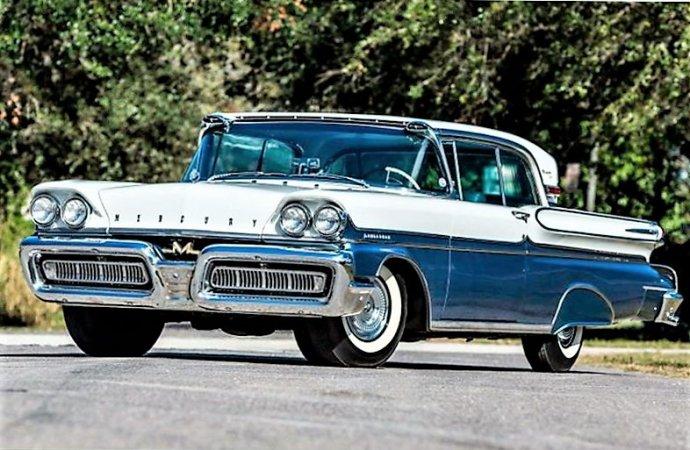 Rare high-performance Mercury with Super Marauder engine