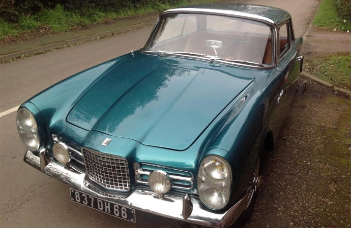 Volvo engine powers '63 Facel Vega III
