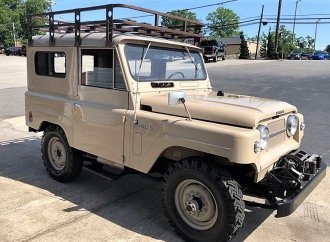 Seldom-seen 4X4, Nissan Patrol looks ready for off-road adventure