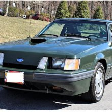 Rent-A-Racer Hertz Mustang SVO in low-mileage survivor condition