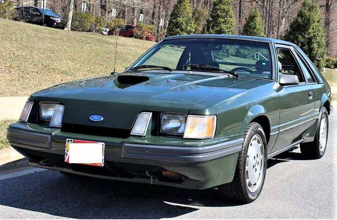 Rent-A-Racer Hertz Mustang SVO in low-mileage survivor condition