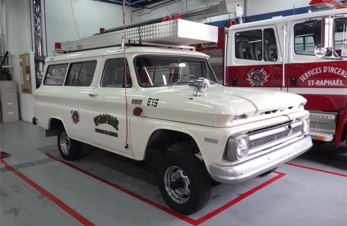 '65 Suburban fought blazes for 53 years