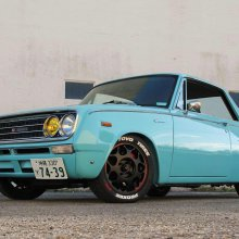 Hot-rodded 1969 Toyota Corona coupe