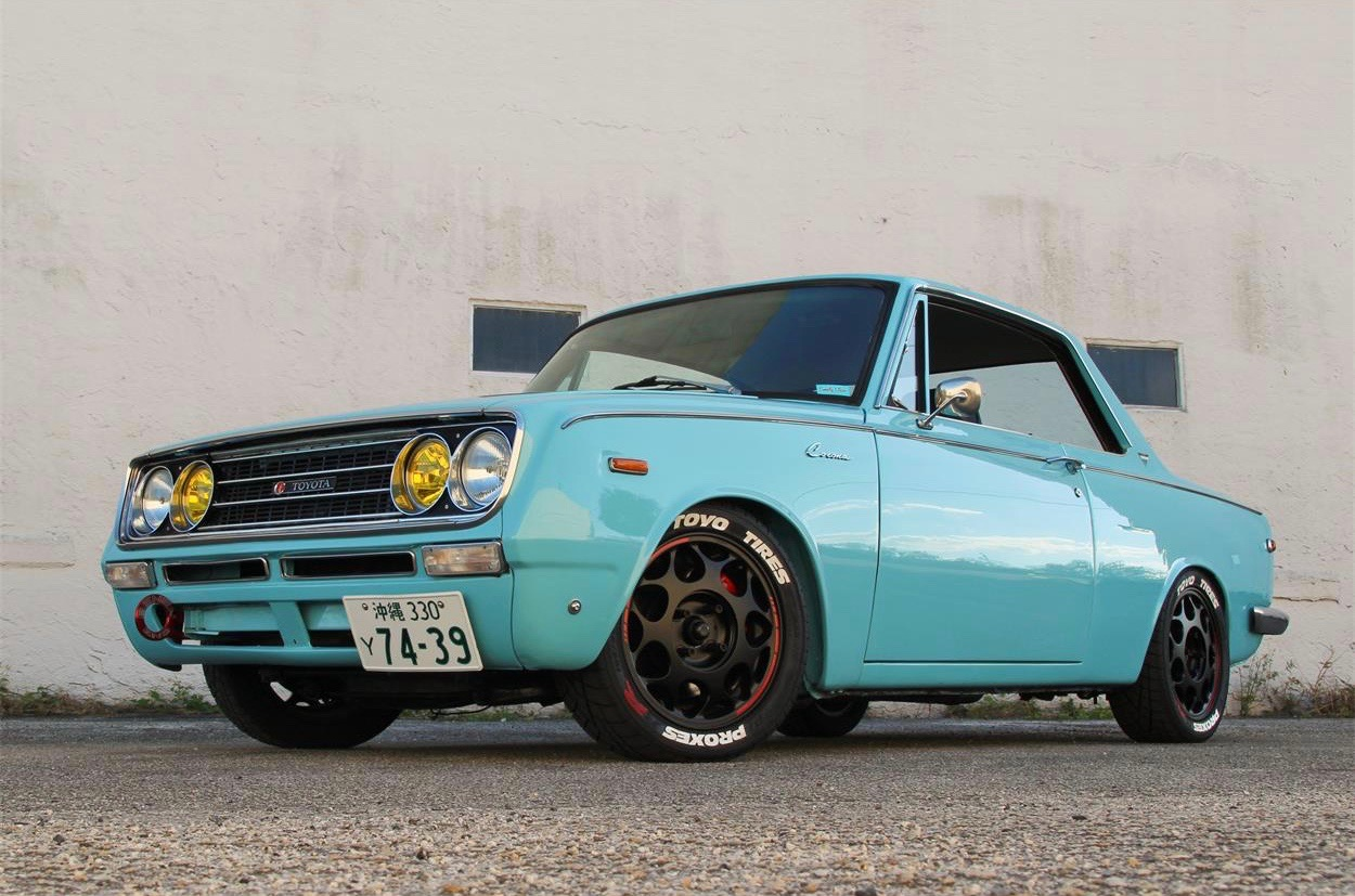 Hot Rodded 1969 Toyota Corona Coupe Is Pick Of The Day