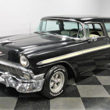 Rare '56 Chevy Nomad with needs presents a project opportunity