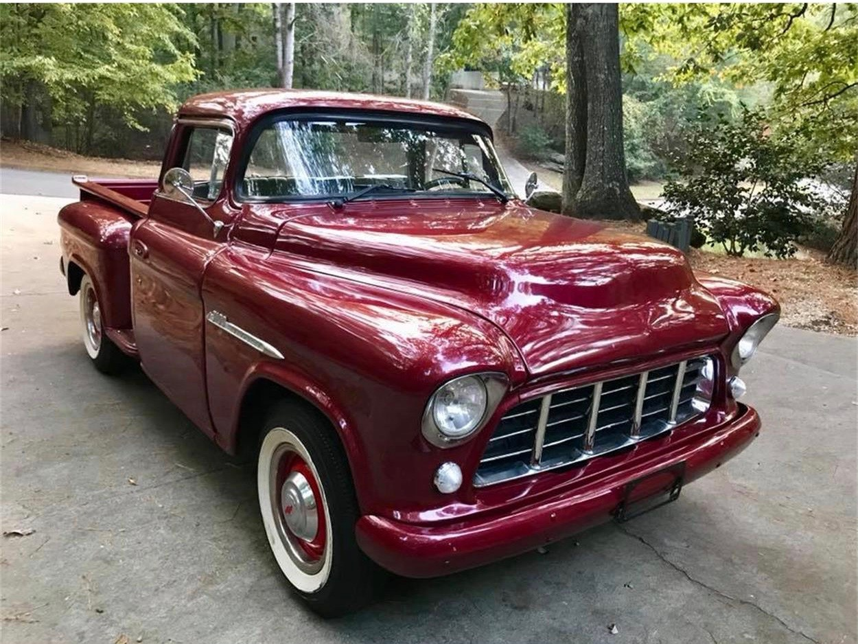 1955 Chevy Truck >> Customized And Diesel Driven 55 Chevrolet Pickup