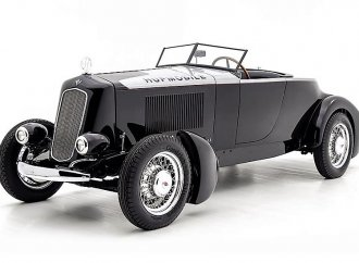 Historic Salt Flats speedster built from a 1930 Hupmobile