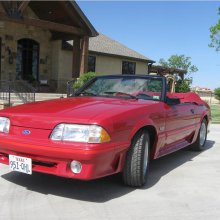 '87 Mustang GT convertible has been driven less than 1,000 miles