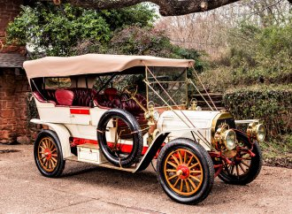 Century-old automobiles readied for Bonhams auction in Florida