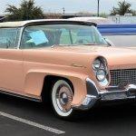 1958 Lincoln two-door