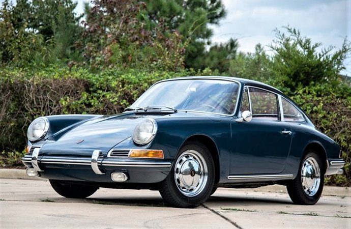Well-preserved 1966 Porsche 911 in time-warp condition