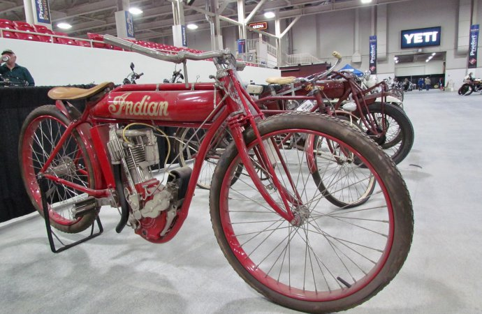 Barn-found trove of Indian motorcycles and materials goes to auction