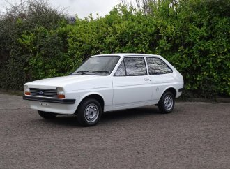 Time-capsule '78 Ford Fiesta has been driven only 141 miles