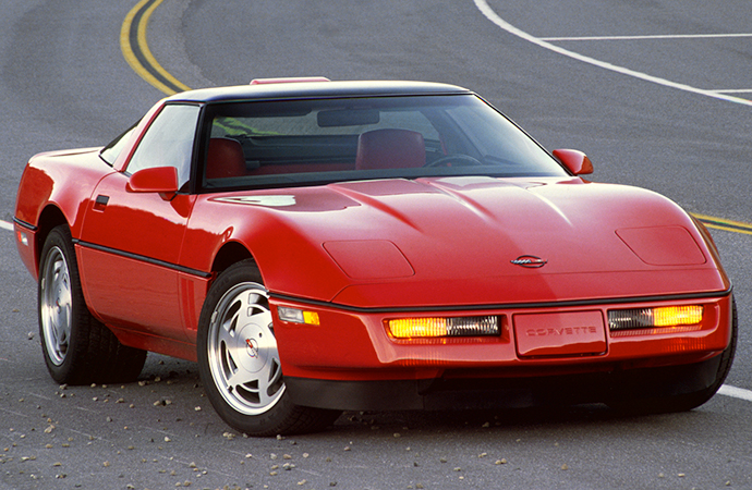 Flash back to the 1990 Chevrolet Corvette ZR-1, aka the 'Corvette from Hell'