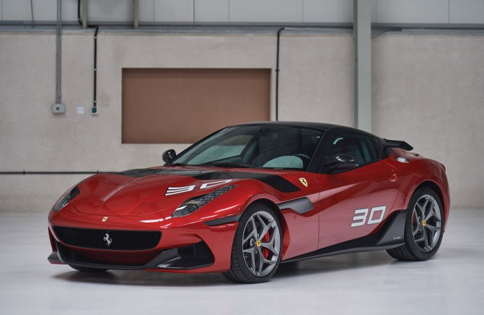 Ferrari Special Projects car goes to auction for the first time