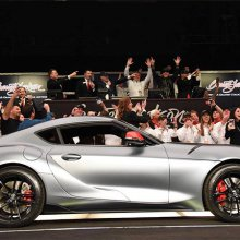 Barrett-Jackson sells first production 2020 Toyota Supra for $2.1 million