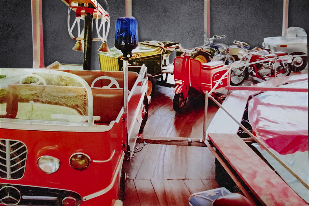 Barrett-Jackson will offer this full-size carousel designed and built for German Christmas markets at its upcoming sale in Scottsdale, Arizona. | Barrett-Jackson photos