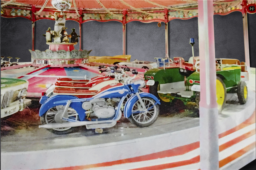 Barrett-Jackson will offer this full-size carousel designed and built for German Christmas markets at its upcoming sale in Scottsdale, Arizona.   Barrett-Jackson photos
