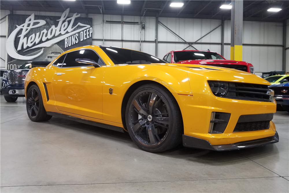 Transformers, Bumble-bid: Four Camaros from 'Transformers' films heading to auction, ClassicCars.com Journal
