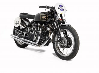 Historic Vincent Black Lightning stars at Bonhams' Las Vegas motorcycle auction