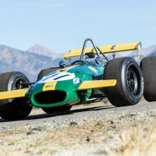 Ickx, Rindt-driven Brabham F1 car on Bonhams' Amelia Island docket
