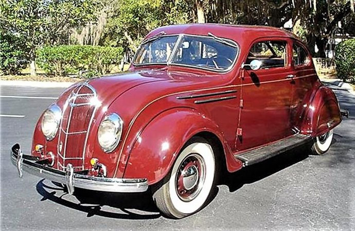 Art Deco 1934 De Soto Airflow unappreciated then, desirable now
