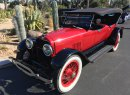 Author Clive Cussler brought out his 1924 Mercer Series 5.